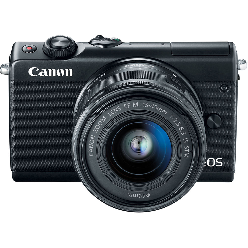 03 Canon EOS M100 kit EF-M 15-45mm IS STM