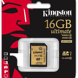 Карта памяти Kingston 16GB SDHC Class 10 600x