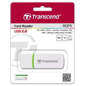 "Card Reader Transcend ""TS-RDP5W white"""